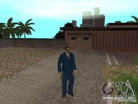 CJ Mafia Skin para GTA San Andreas quinta pantalla