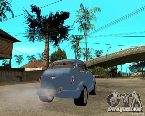 ZAZ Zaporozhets 965 HotRod para GTA San Andreas vista posterior izquierda