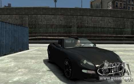Maserati 3200 CampioCorsa para GTA 4 vista hacia atrás