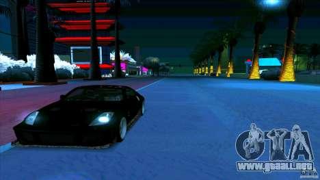 Nissan 350Z JDM para la visión correcta GTA San Andreas