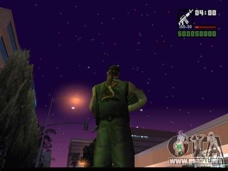 Cielo estrellado v2.0 (para SA: MP) para GTA San Andreas