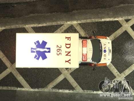 GMC C4500 Ambulance [ELS] para GTA 4 vista interior