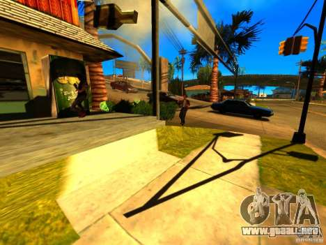 Mod Beber Cerveja V2 para GTA San Andreas tercera pantalla