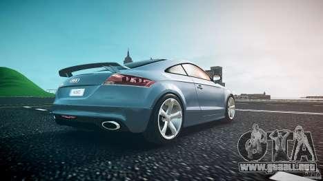 Audi TT RS 2010 para GTA 4 vista desde abajo