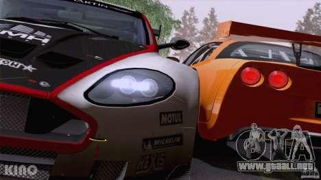 Aston Martin Racing DBRS9 GT3 para las ruedas de GTA San Andreas