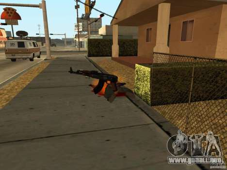Armas nacional-versión 1.5 para GTA San Andreas novena de pantalla