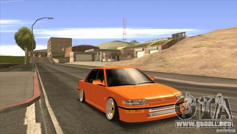 Honda Civic EF9 Sedan para la visión correcta GTA San Andreas