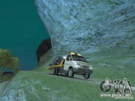 GAZ 3302 2003-2011. Camión de remolque para la visión correcta GTA San Andreas