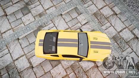 Shelby GT 500 KR 2008 K.I.T.T. para GTA 4 visión correcta