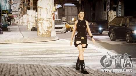 Angelina Jolie (Tomb Raider) para GTA 4 segundos de pantalla