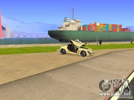 Bertone Mantide para la vista superior GTA San Andreas