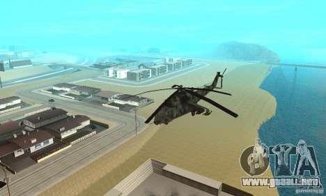 Black Ops Hind para GTA San Andreas