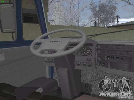 KAMAZ 5460 Sport para visión interna GTA San Andreas