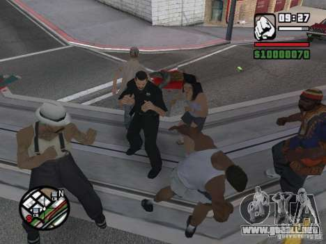 No puedes vencer a las mujeres 2.0 para GTA San Andreas