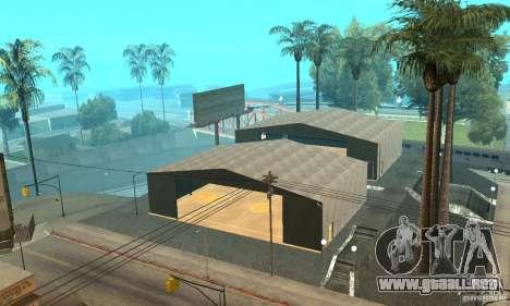 Basketball Court v6.0 para GTA San Andreas sucesivamente de pantalla