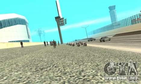 BikersInSa (los moteros en SAN ANDREAS) para GTA San Andreas segunda pantalla