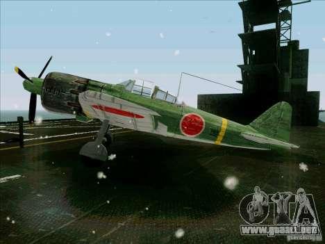 Avión japonés para GTA San Andreas left