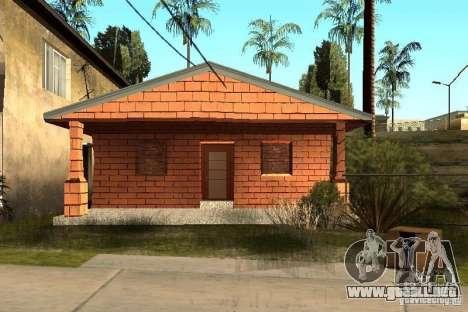 Nuevas texturas de casas en la calle Grove para GTA San Andreas segunda pantalla