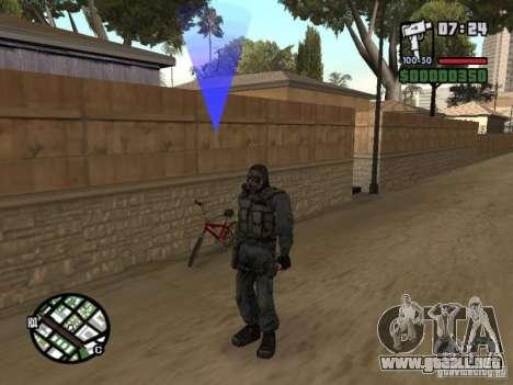 Mercenario acosador de máscara para GTA San Andreas