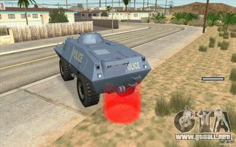 Guardia de BTR para GTA San Andreas tercera pantalla