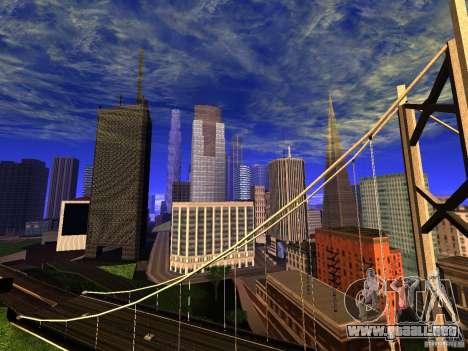 New San Fierro V1.4 para GTA San Andreas segunda pantalla