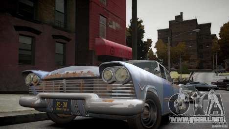 Plymouth Savoy Club Sedan 1957 para GTA 4