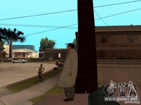 Joe Barbaro de Mafia 2 para GTA San Andreas sucesivamente de pantalla