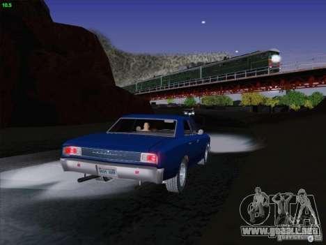 Chevrolet Chevelle para la vista superior GTA San Andreas