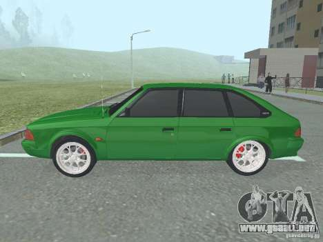 Moskvich 2141 para GTA San Andreas vista posterior izquierda