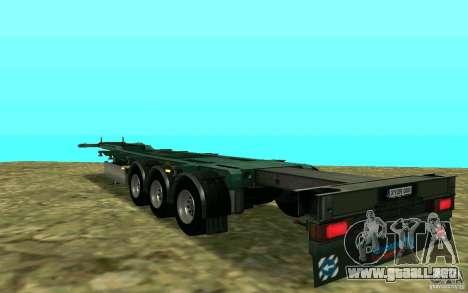 Remolque Schmitz para GTA San Andreas