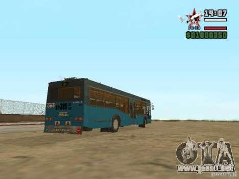 MAZ-103S para la visión correcta GTA San Andreas
