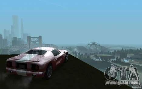 ENBSeries v1 for SA:MP para GTA San Andreas sucesivamente de pantalla