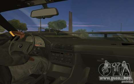 BMW 525 (E34) V.2 para GTA San Andreas left