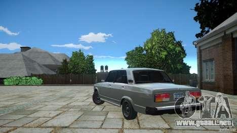 VAZ 2107 v1.0 para GTA 4 visión correcta