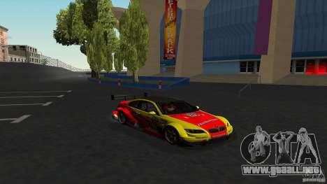 BMW E92 M3 para visión interna GTA San Andreas