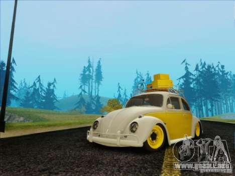 Volkswagen Beetle Edit para GTA San Andreas