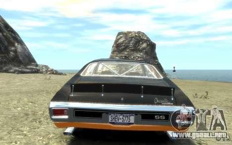Chevrolet Chevelle SS 1970 para GTA 4 visión correcta