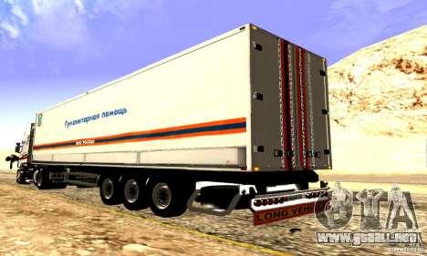 Rusia FEMA Trailer para visión interna GTA San Andreas
