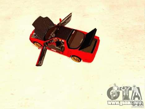 Acura NSX Stance Works para la visión correcta GTA San Andreas