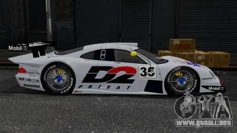 Mercedes-Benz CLK LM 1998 para GTA 4 left