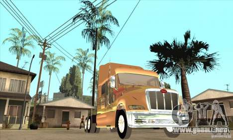 Peterbilt 387 piel 3 para visión interna GTA San Andreas