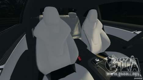 Audi S5 para GTA 4 vista interior
