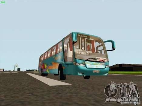 Mercedes-Benz Vissta Buss LO para GTA San Andreas left