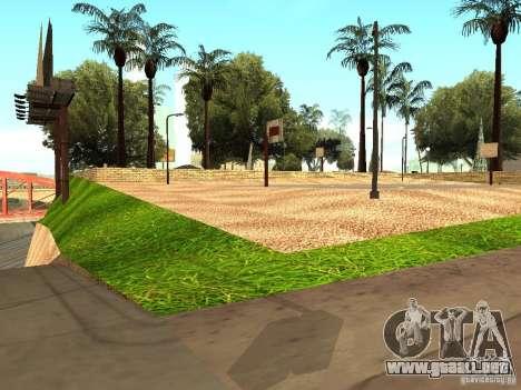 La nueva cancha de baloncesto en Los Santos para GTA San Andreas
