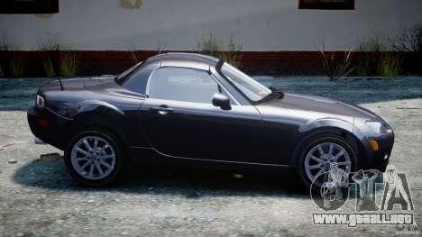 Mazda MX-5 para GTA 4 left