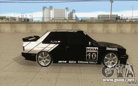 BMW E30 M3 - Coupe Explosive para visión interna GTA San Andreas