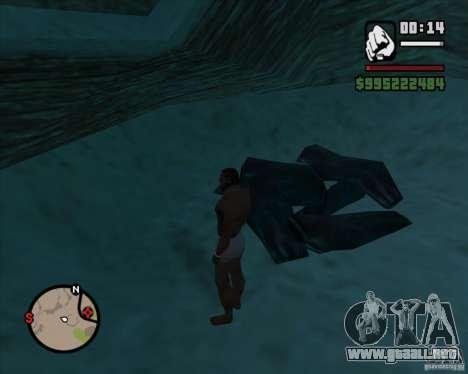 Vaquero duelo v2.0 para GTA San Andreas quinta pantalla
