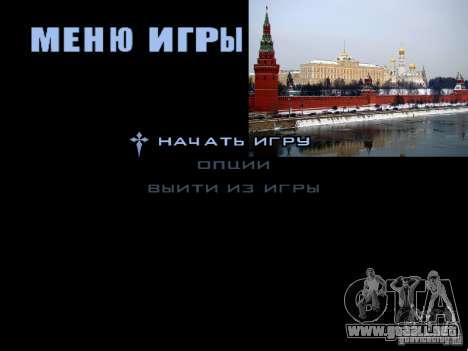 Pantalla de arranque de Moscú para GTA San Andreas twelth pantalla