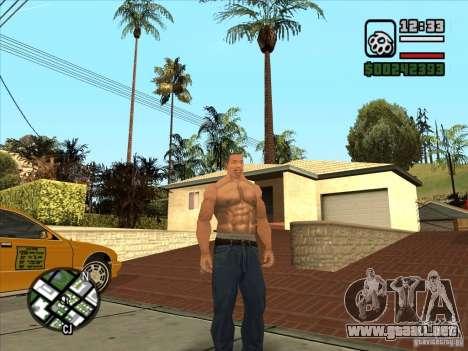 Cj blanco para GTA San Andreas tercera pantalla