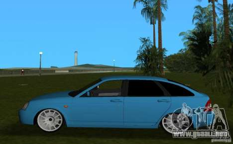 Lada Priora Hatchback v2.0 para GTA Vice City left